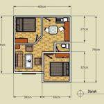 Sketsa Rumah Sederhana 2 Kamar