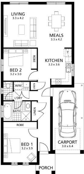 Sketsa Rumah Sederhana 2019