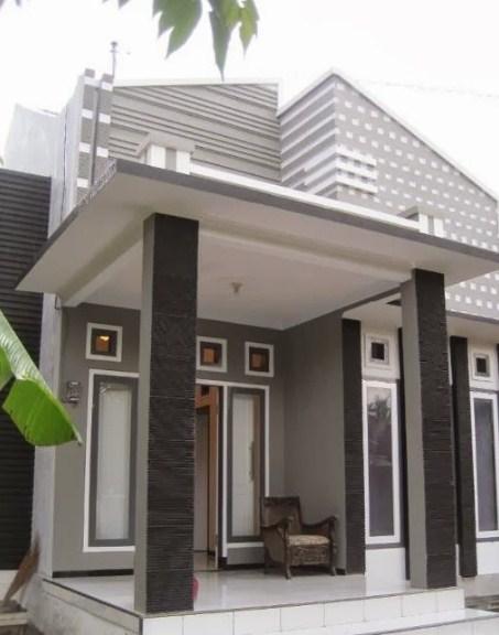 Teras Depan Rumah Minimalis Sederhana