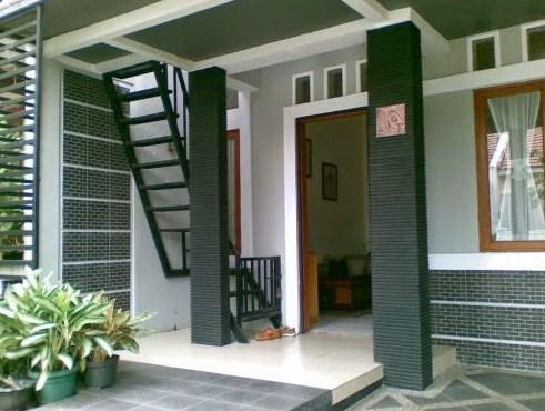 teras rumah lantai 2 - model rumah minimalis 2020