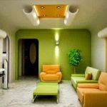 Warna Cat Rumah Bagian Dalam Hijau Tosca