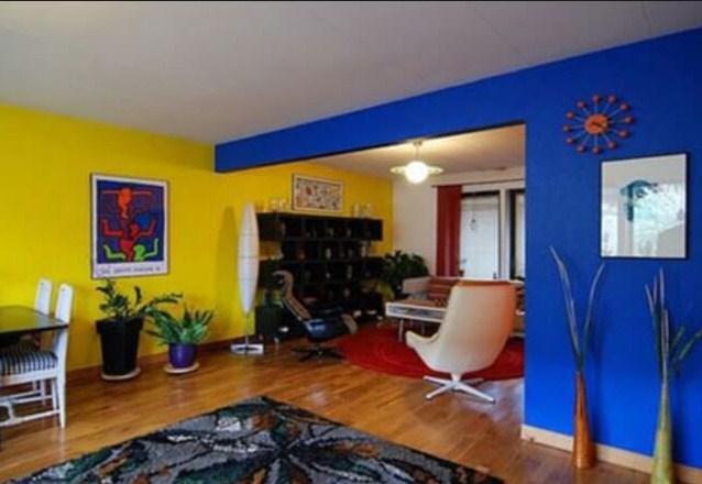 Warna Cat Rumah Bagian Dalam Warna Warni