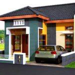 Warna Cat Rumah Bagian Luar Sederhana