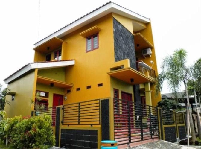 30 Kombinasi Warna  Cat  Rumah  Bagian Luar  2021 Terbaru