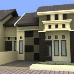 Warna Cat Rumah Sederhana Bagian Depan