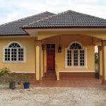 Warna Cat Rumah Sederhana Di Kampung