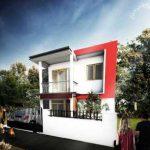 Warna Cat Tembok Luar Rumah Sederhana