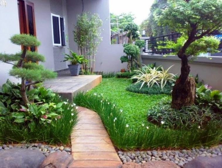 Bentuk Taman Minimalis Depan Rumah