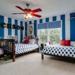 Cat Dinding Kamar 2 Warna Biru Dan Putih