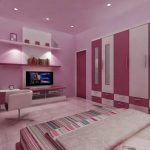 Cat Dinding Kamar 2 Warna Pink