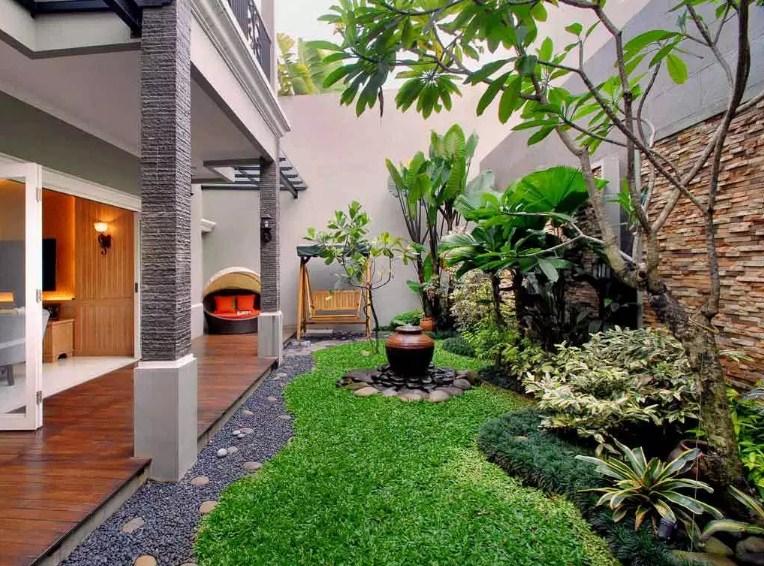 √ 40 Desain Taman Rumah Minimalis Modern Terbaru 2019