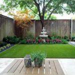 Desain Taman Minimalis Belakang Rumah Dengan Teras