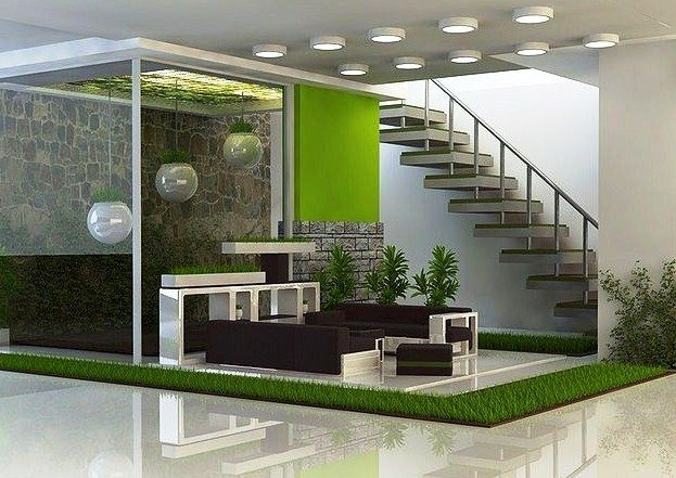 60 Desain Dan Model Taman Minimalis Cantik Terbaru 2020