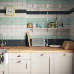 Foto Keramik Dinding Dapur