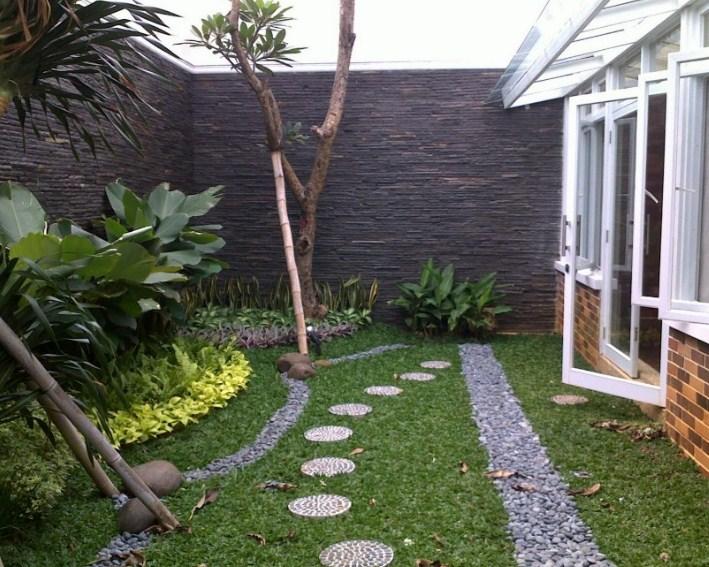 Inspirasi Taman Di Dalam Rumah Minimalis