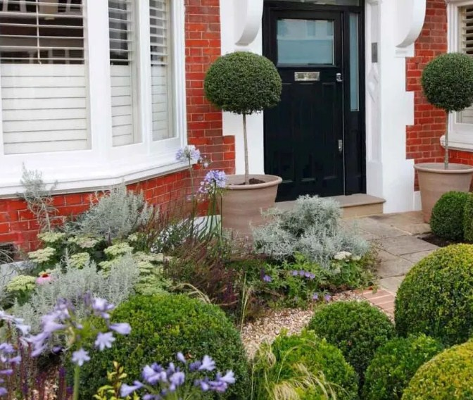 30 Desain Taman Minimalis Depan Rumah Paling Cantik 2019 Rumahpedia