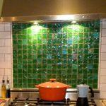 Keramik Dinding Dapur Warna Hijau