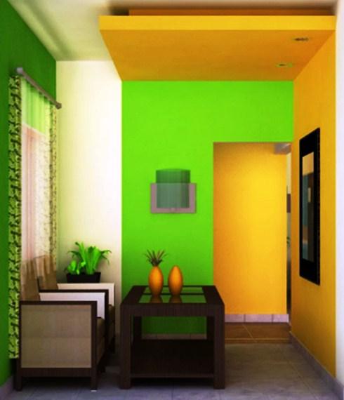 Kombinasi Warna Cat Rumah Kuning Yang Bagus