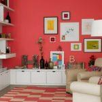 Kombinasi Warna Cat Rumah Merah Yang Bagus