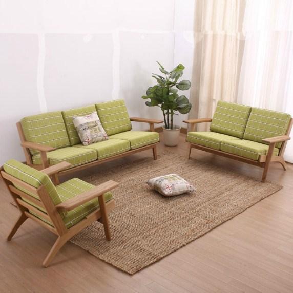 Kursi Sofa Minimalis Warna Hijau