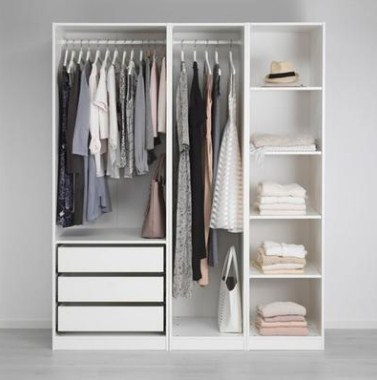 Lemari Baju Gantung Minimalis Modern