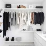 Lemari Pakaian Minimalis Untuk Kamar Kecil