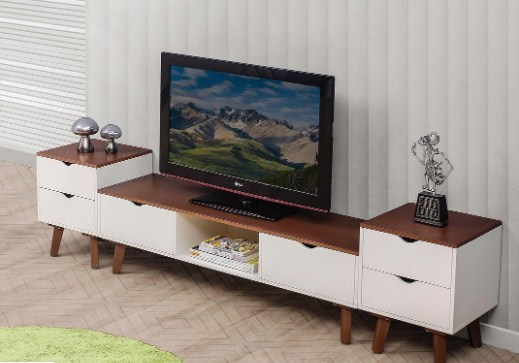 Meja Tv Flat Minimalis