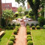 Model Taman Belakang Rumah