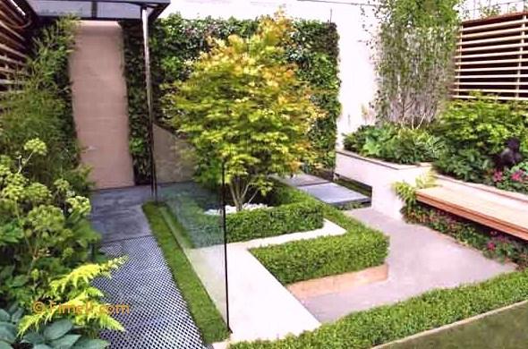 Taman Air Minimalis Depan Rumah