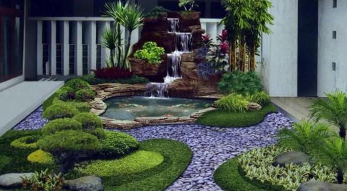 Taman Air Rumah Minimalis