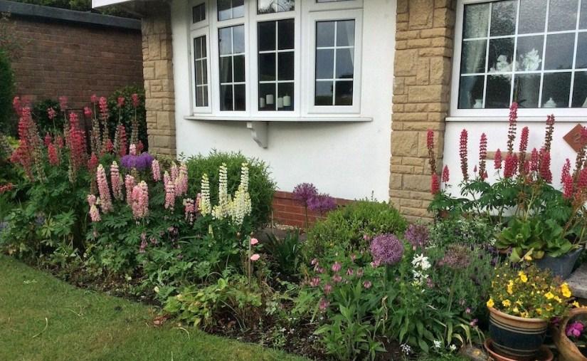 Taman Bunga Minimalis Depan Rumah