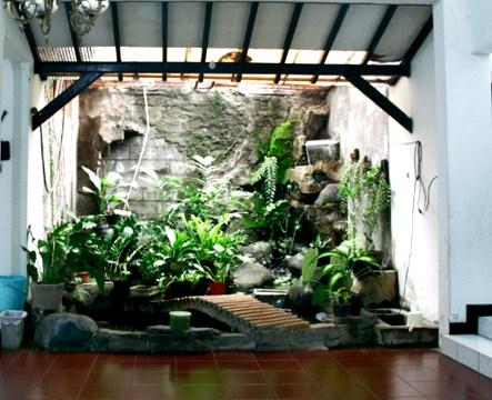 Taman Dalam Rumah Minimalis Lahan Sempit
