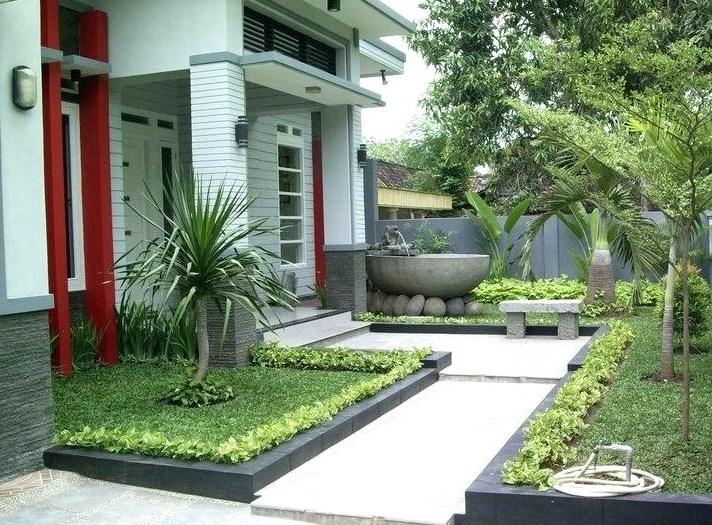 Taman Depan Rumah Minimalis Cantik