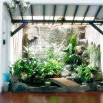 Taman Kolam Ikan Dalam Rumah Minimalis