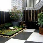Taman Minimalis Dalam Rumah Type 36