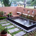 Taman Minimalis Dengan Kolam