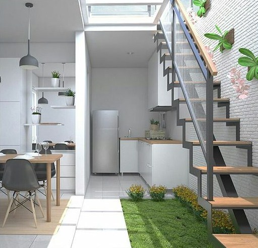 √ 25 Ide Desain Taman Minimalis Dalam Rumah Yang Artistik