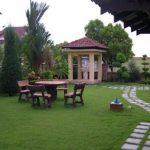 Taman Rumah Minimalis Dan Gazebo