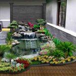 Taman Rumah Minimalis Dengan Kolam