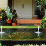 Taman Rumah Minimalis Dengan Kolam Ikan