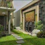 Taman Teras Rumah Minimalis Modern