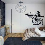 Warna Cat Kamar Tidur Grafiti