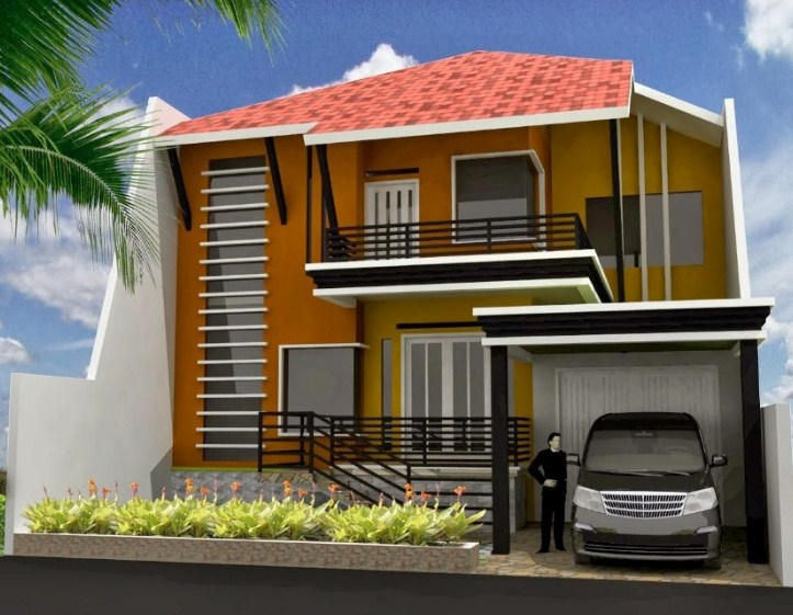 Warna Cat Rumah Kombinasi Terbaru