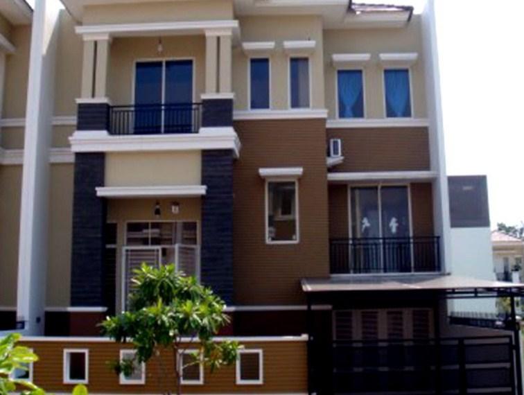 Warna Cat Rumah Mewah 2 Lantai