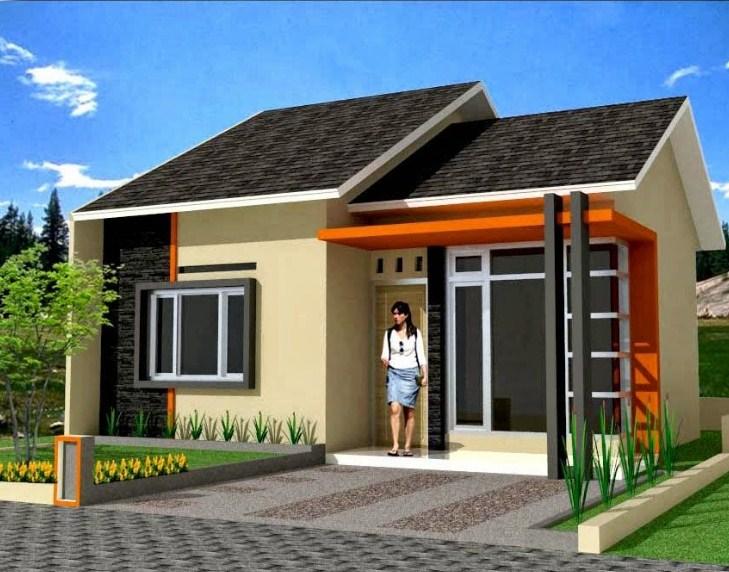 Warna Cat Rumah Minimalis Satu Lantai