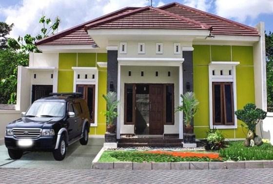 Warna Cat Rumah Minimalis Warna Hijau