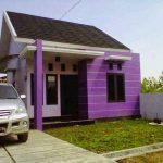 Warna Cat Rumah Minimalis Warna Ungu