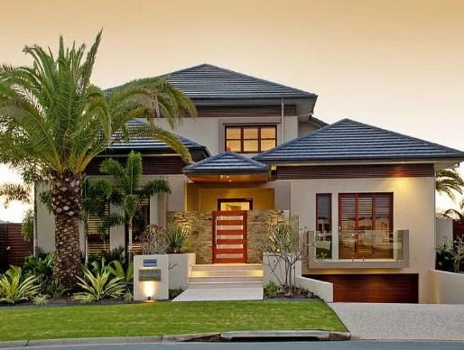 Warna Cat Rumah Terbaru Bagian Depan