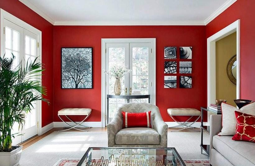 Warna Cat Rumah Terbaru Untuk Ruang Tamu