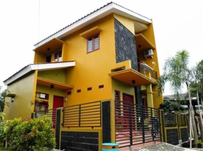 Warna Cat Rumah Yang Bagus Dan Menarik